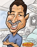 Dentist Gift Caricature
