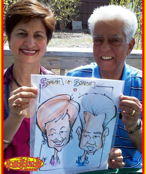 Party Caricatures at the Turtle Back Zoo | Caricature ...
