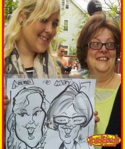 New Jersey Party Caricature