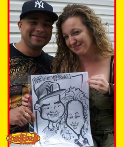 New Jersey Party Caricatures