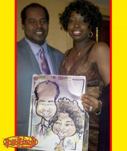 Party Caricatures New Jersey