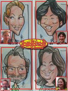 Party Caricatures NJ